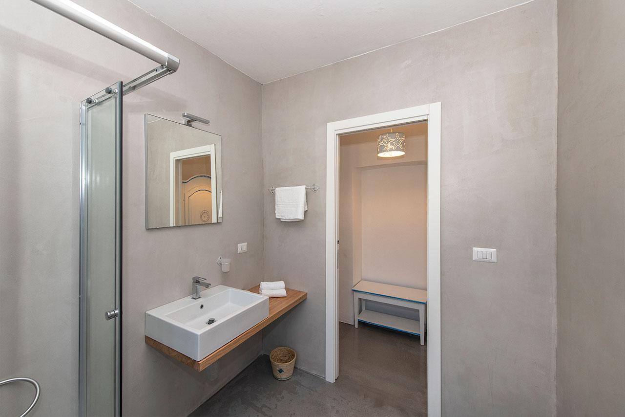 Bagno camera Stella Marina Asinara 1