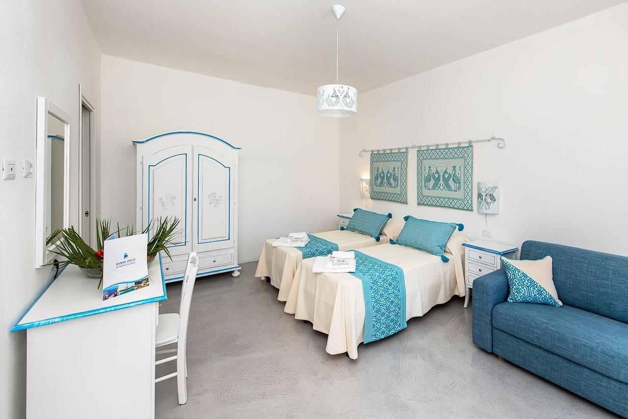 Interni camera Pavoni Asinara 3